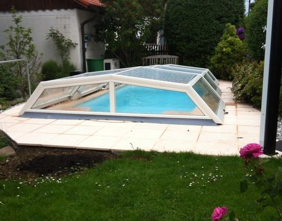 Abrit piscine bas pour piscine de petite dimension