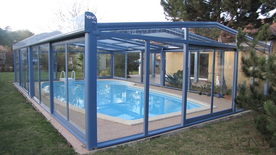 Abris pools fixed SHELTERS VENUS color choice in the range RAL