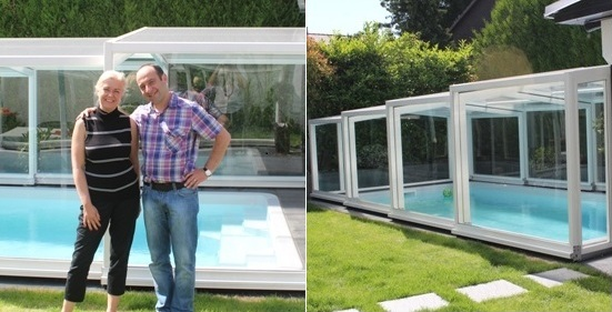 Abri intermediate pool enclosure- perfect  to enjoy the swimming pool
