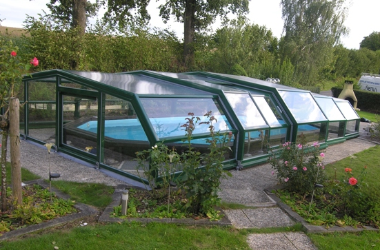 5 intermediate angles pool shelters shelter pool and for Plexiglass pool enclosure